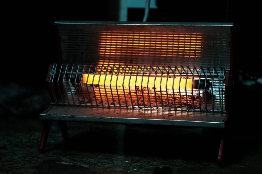 Imagem mostra um aquecedor elétrico.