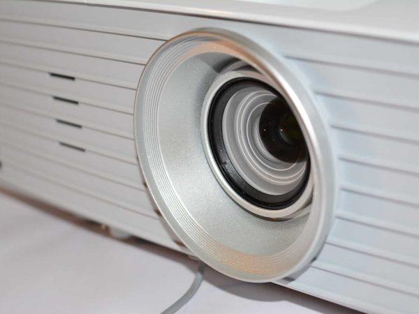 Imagem que mostra um projetor.