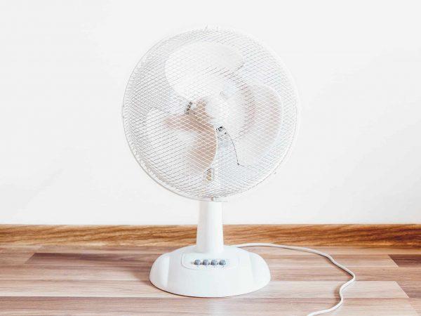 Imagem de um ventilador portátil.
