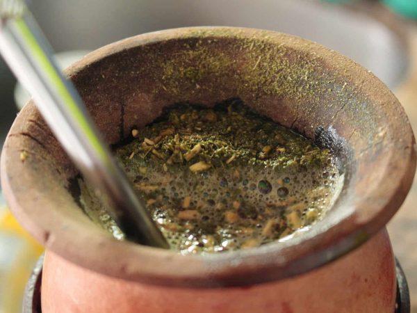 Imagem de uma cuia para chimarrão.