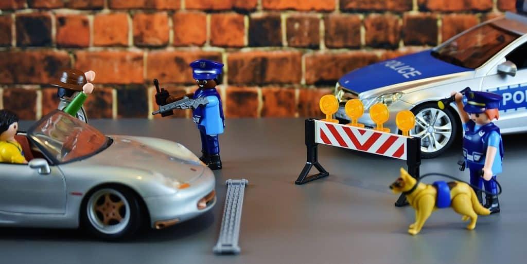 Imagem de um playmobil da linha City Action.