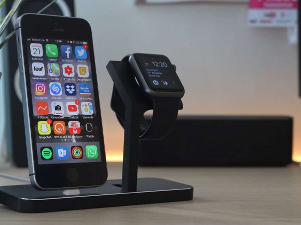 Imagem do Apple Watch, uma extensão do Iphone.