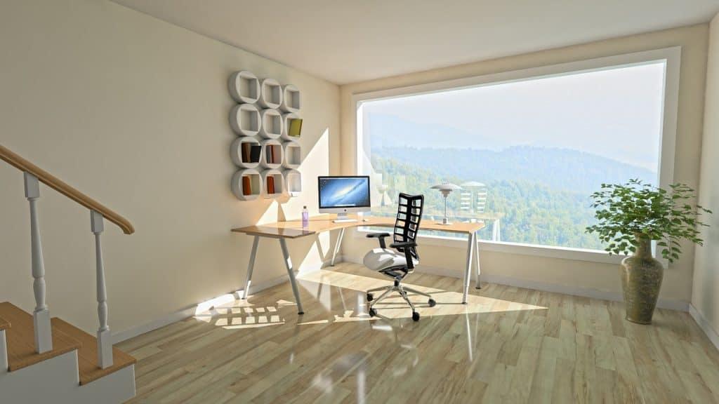 Imagem de um escritório Home Office