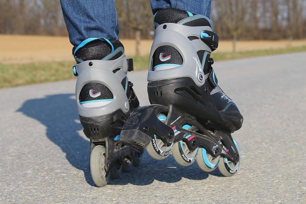 Imagem de freio de patins.