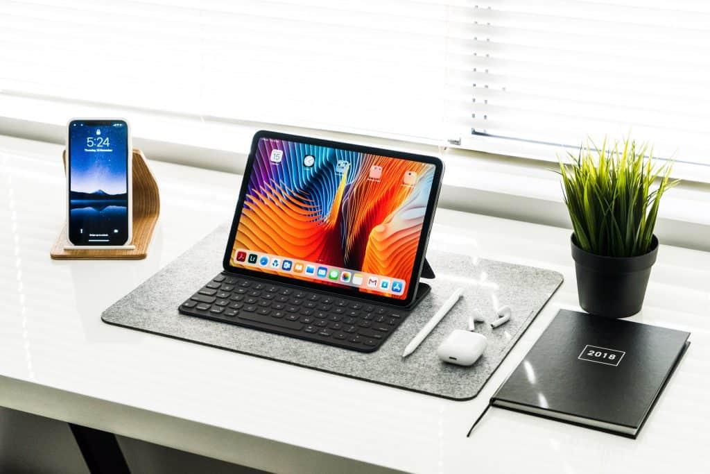 Imagem de um iPad Pro.