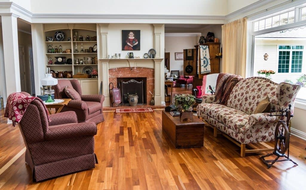 Imagem de sala de estar.