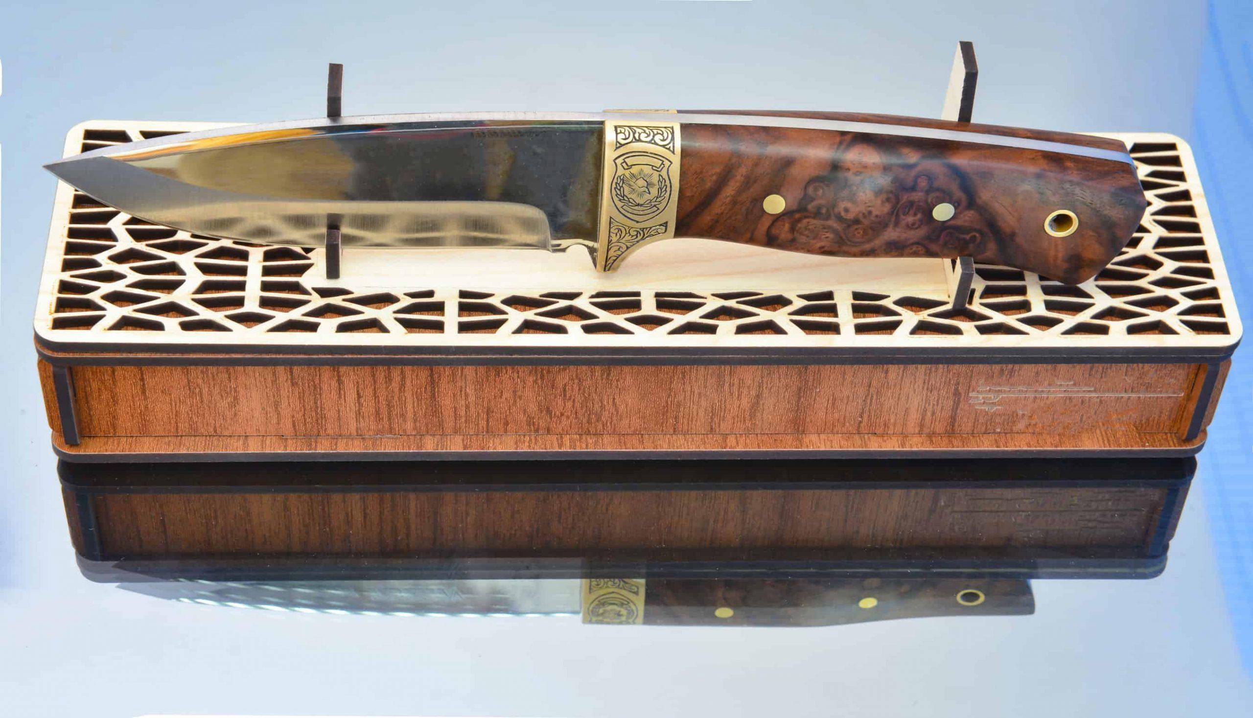Imagem de faca de caça.
