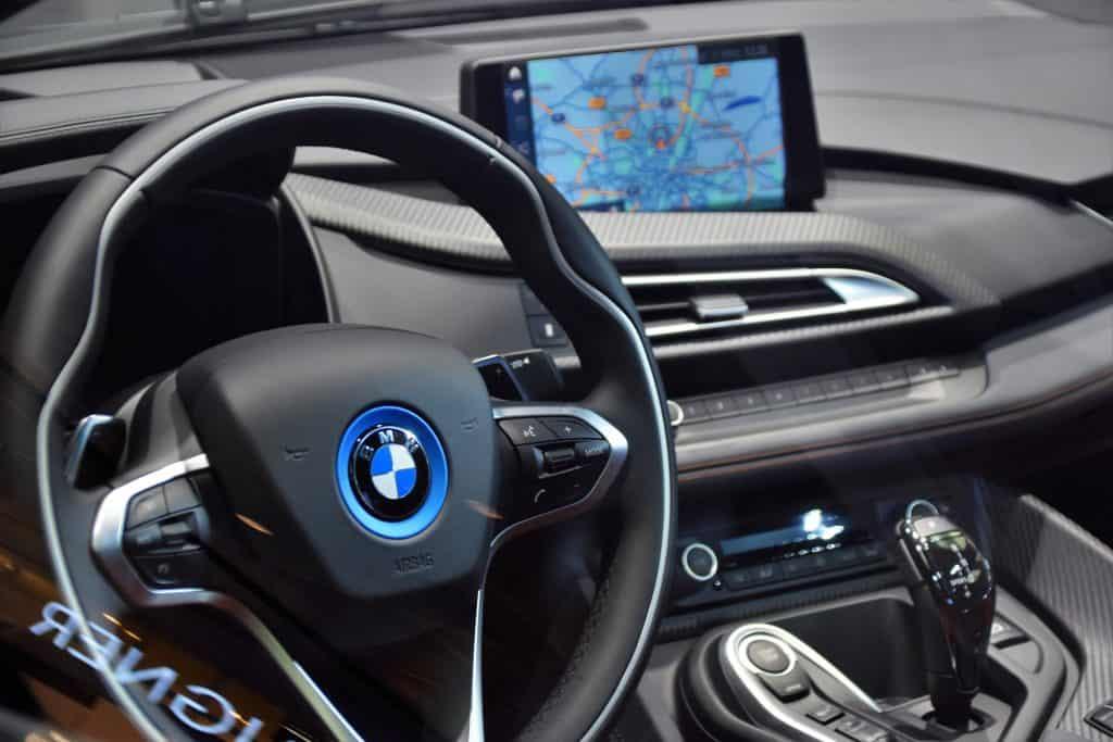 Imagem de um GPS.