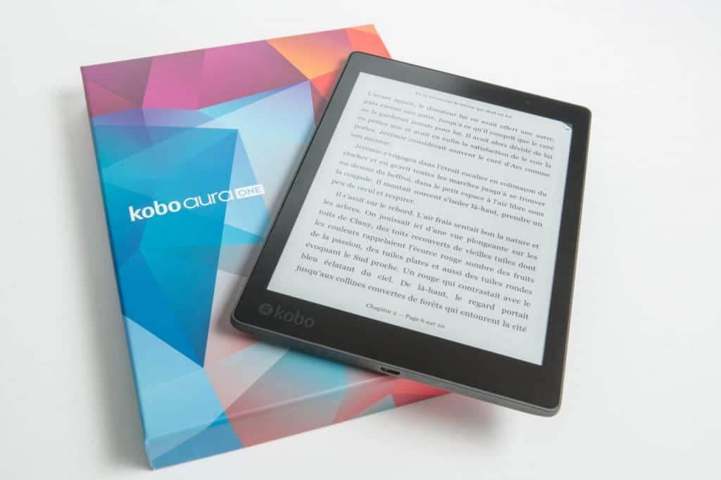 Imagem de um e-reader.