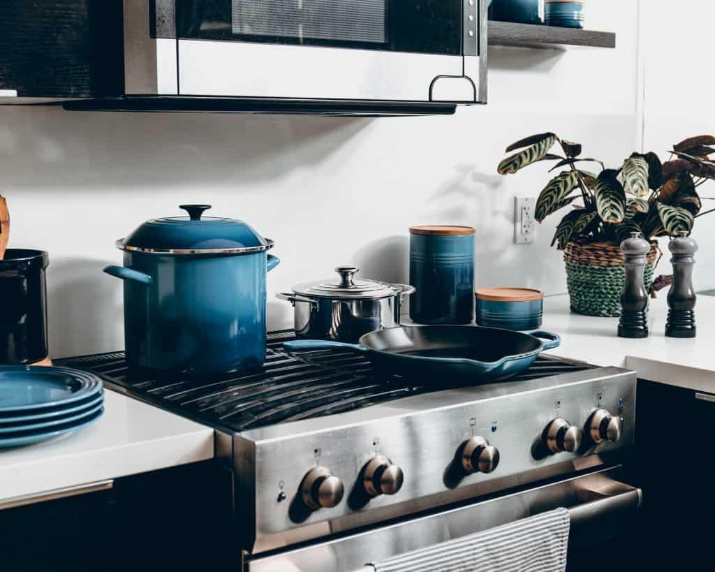 Imagem de um fogão.