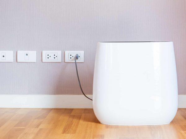 Imagem de um purificador de ar.