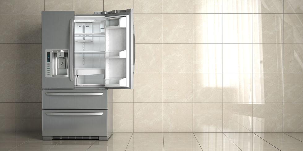 imagem de uma geladeira Side by Side.