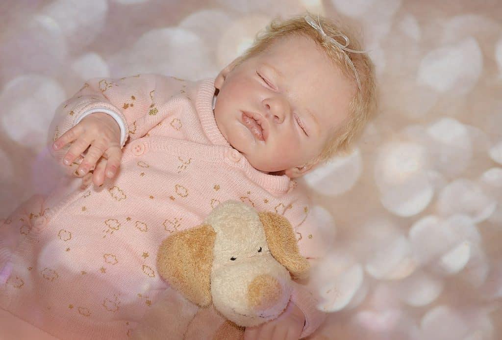 Imagem de uma boneca Reborn.