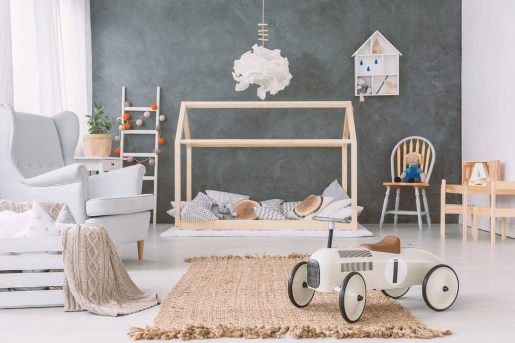 Montessorian cottage bed.