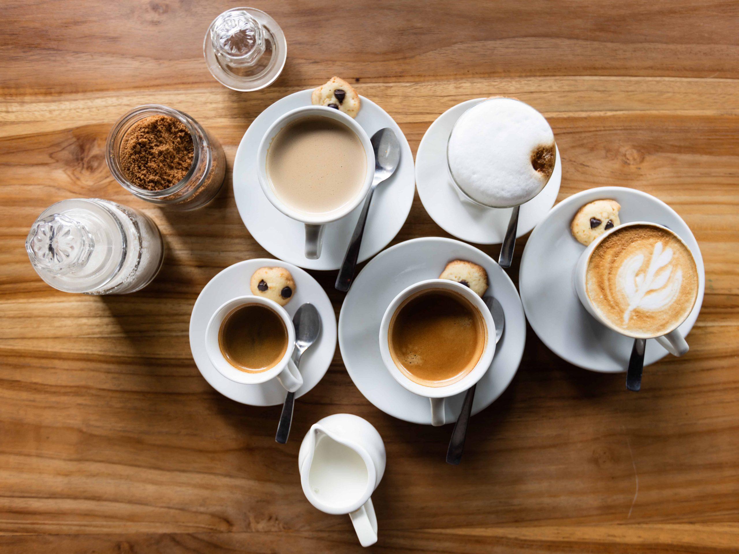 Imagem de xícaras de café.