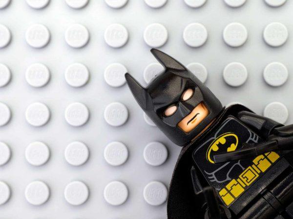 Mini figura Lego Batman.
