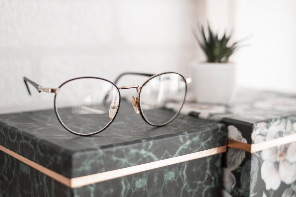 Imagem de um óculos de grau.