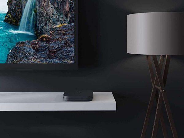 Imagem de uma TV Box Android.