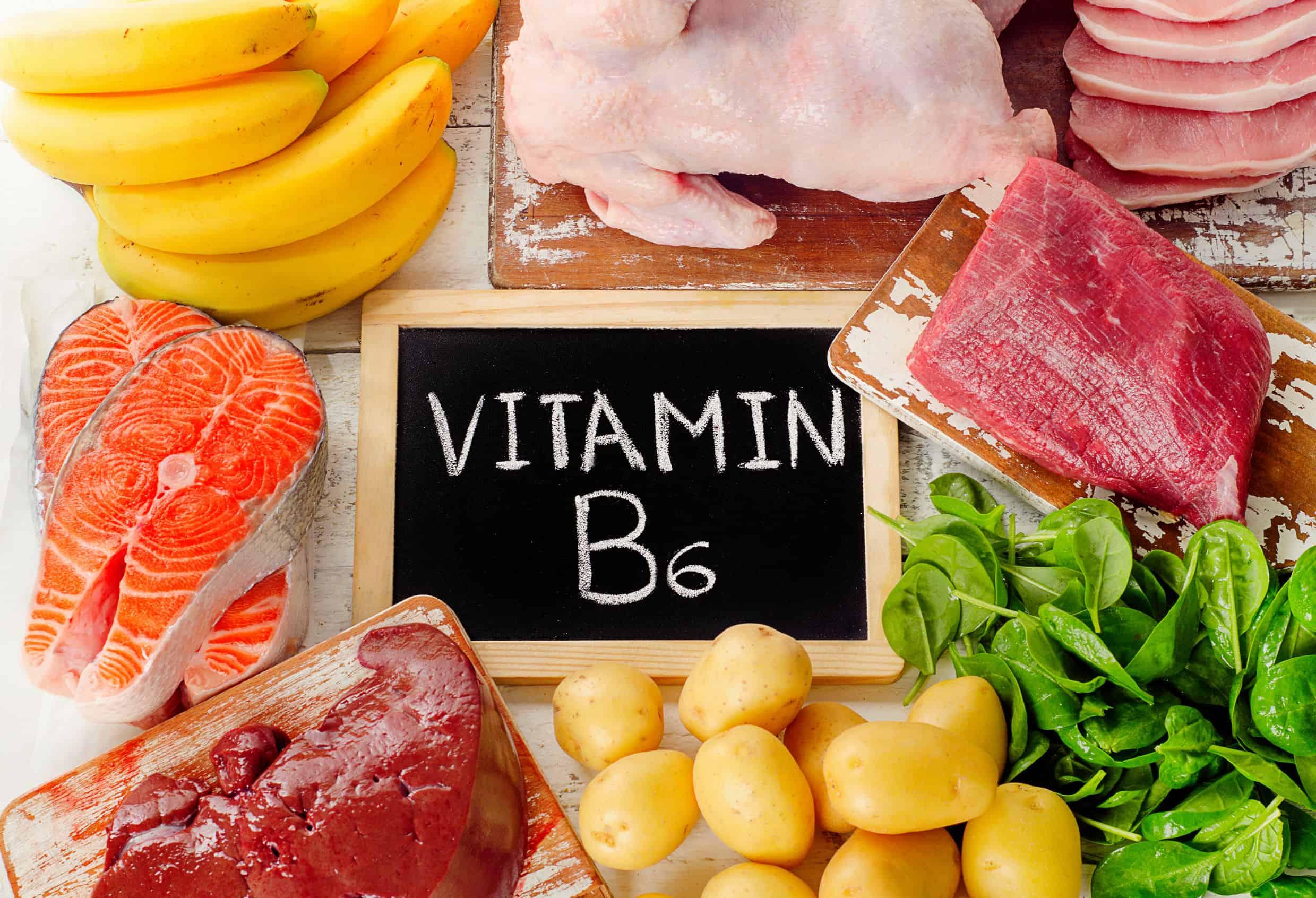 Alimentos com vitamina B6.