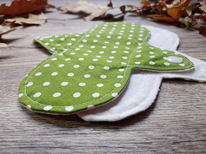 Imagem de absorvente ecológico estampado