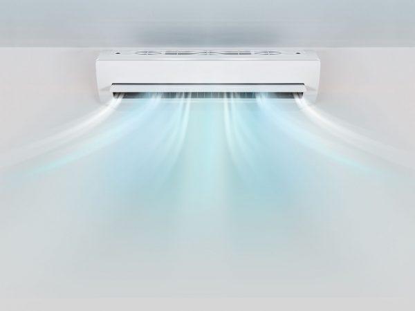Imagem de um ar condicionado.