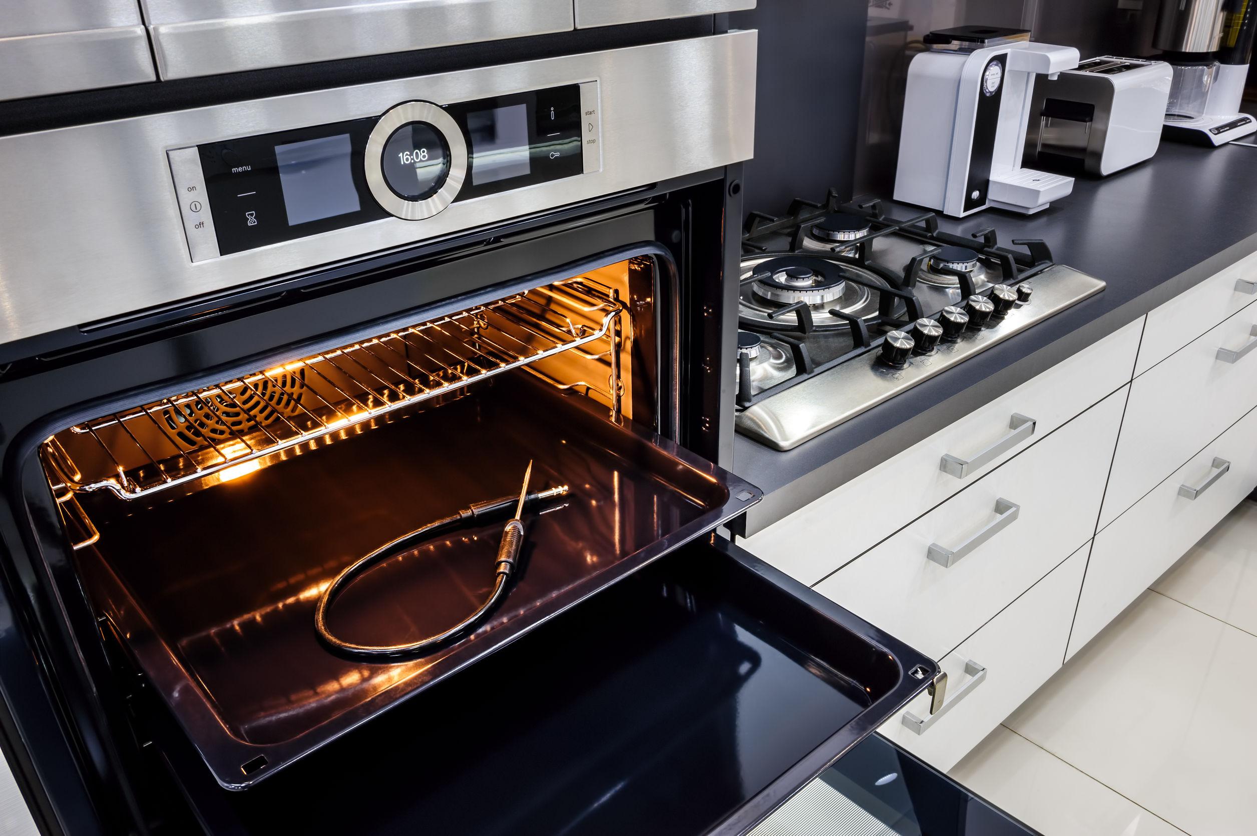 Imagem de um forno elétrico de bancada Fischer.