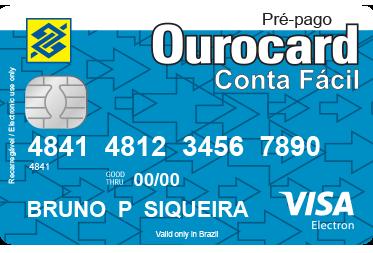 Ourocard Pré-pago