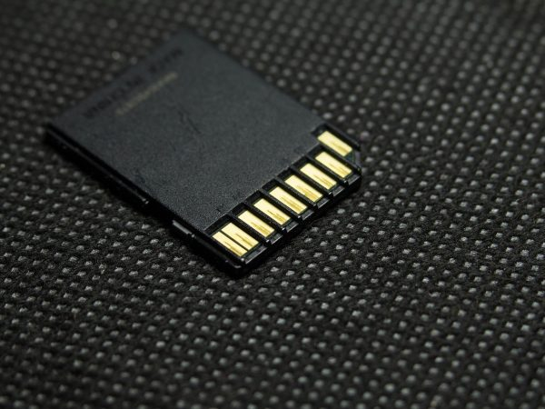 Imagem de cartão de memória