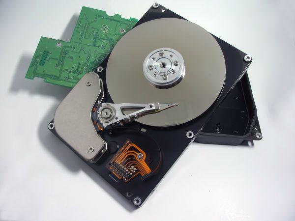 Imagem de componentes internos de notebook