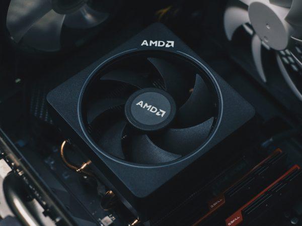 Imagem de placa de vídeo AMD