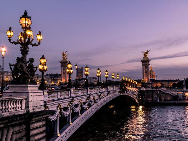 Ponte em Paris, na França.