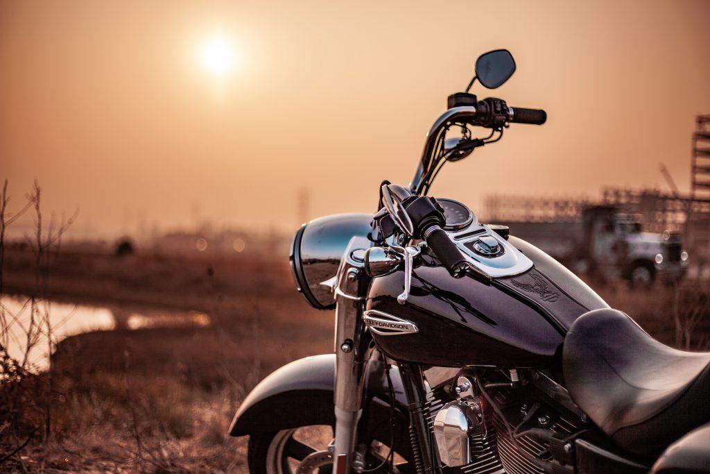 Imagem de uma motocicleta