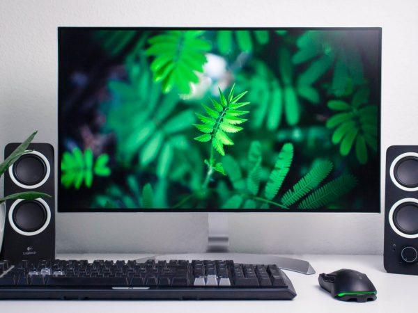 Imagem de um computador