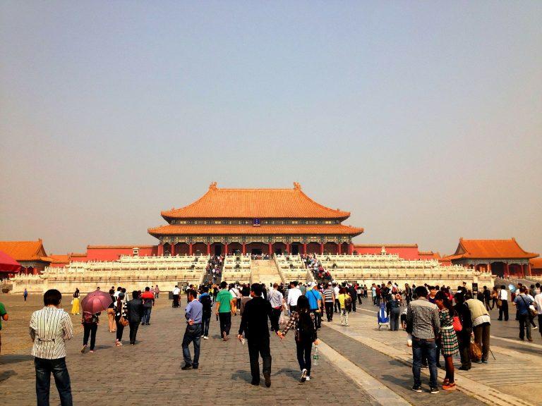 Palácio Proibido em Pequim, China.