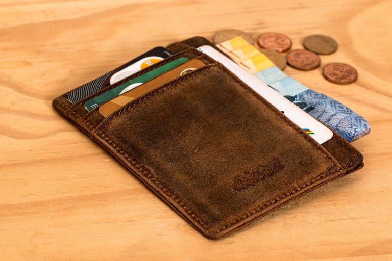 Imagem de uma carteira vertical