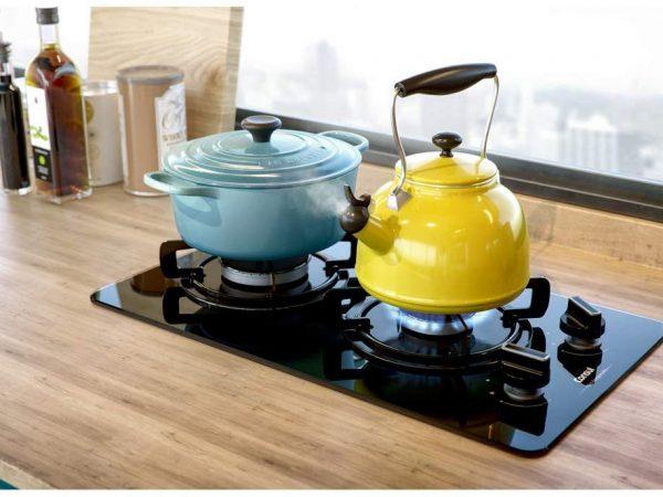 Imagem de um cooktop Consul.