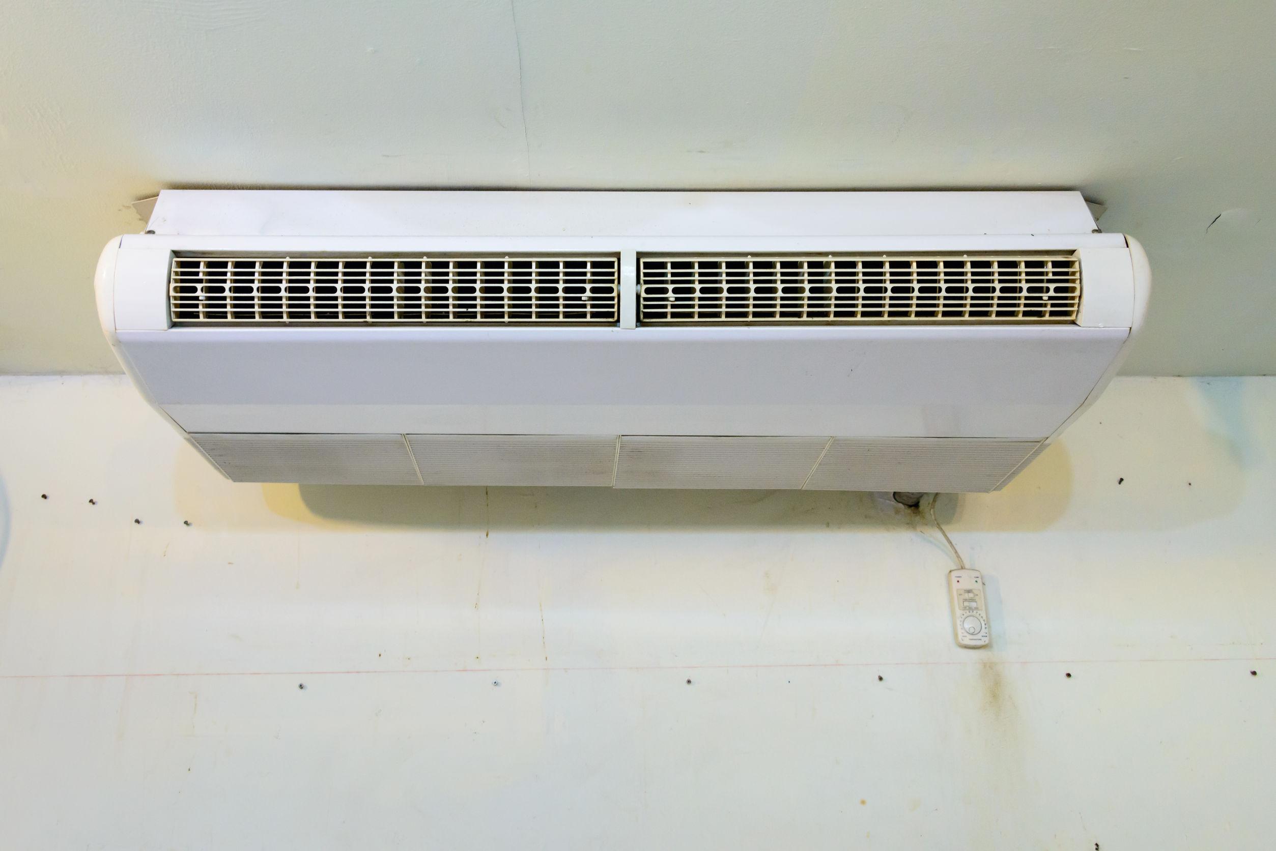 Ar condicionado na pared