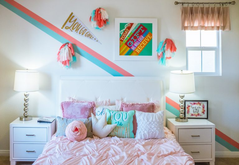 Imagem de um quarto infantil.