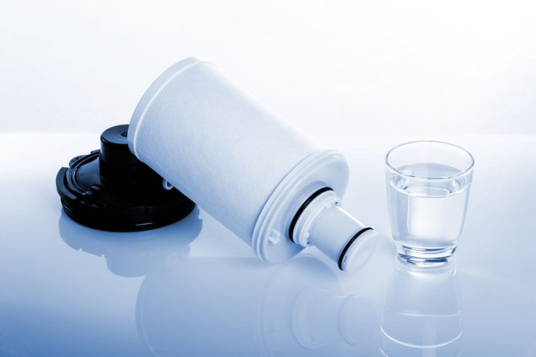 Imagem de um filtro de água.