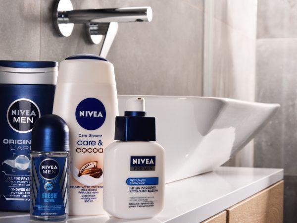 Imagem de produtos Nivea.