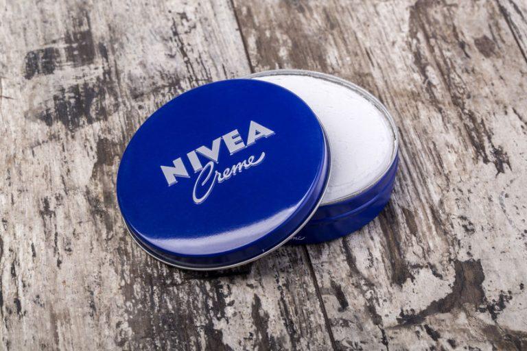 Imagem de um creme Nivea.
