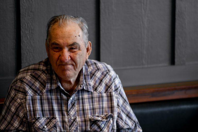 Imagem de um idoso.