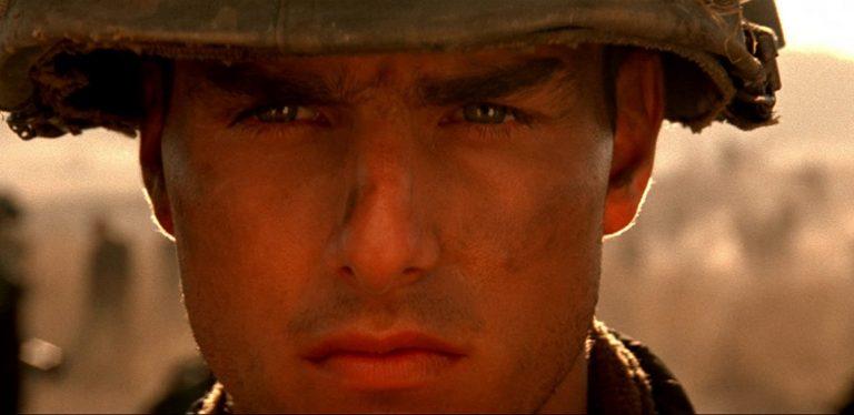 """Imagem mostra Tom Cruise em uma cena de """"Nascido em 4 de Julho""""."""