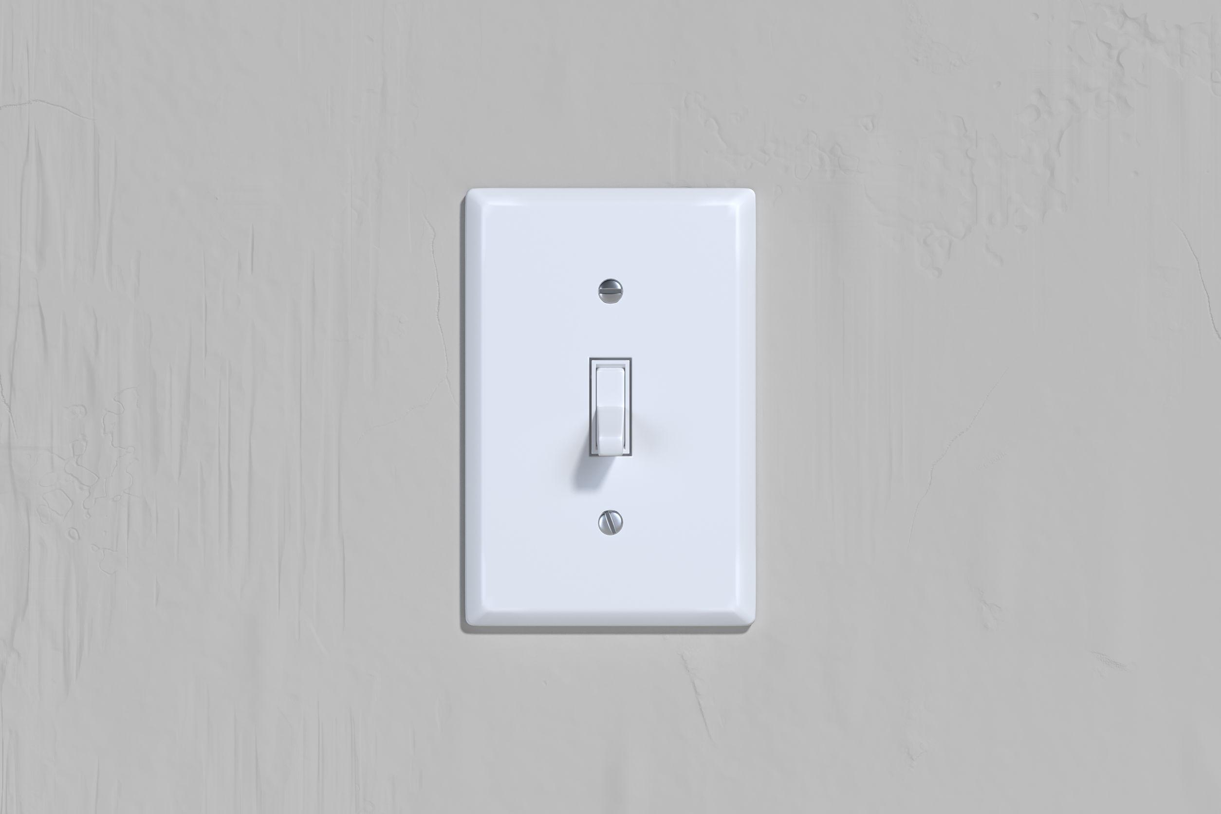 Interruptor de luz.