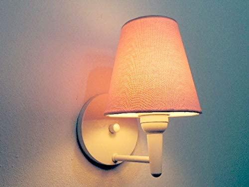 Imagem de um abajur de parede.