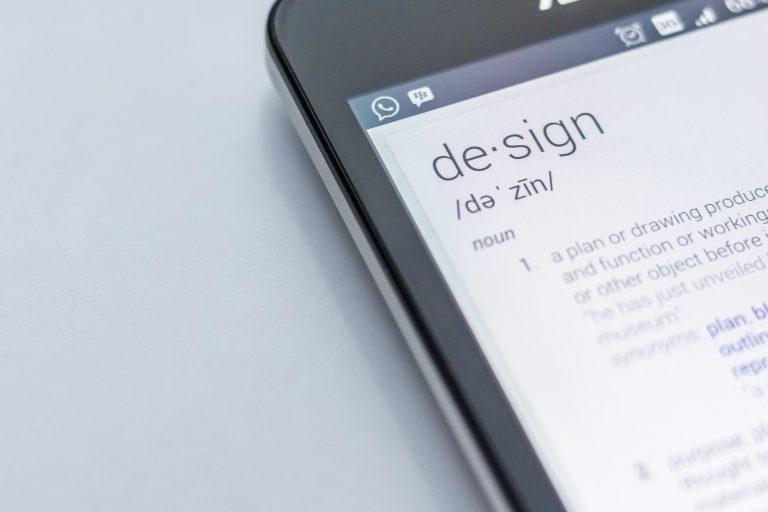 Imagem de um aplicativo de tradução.