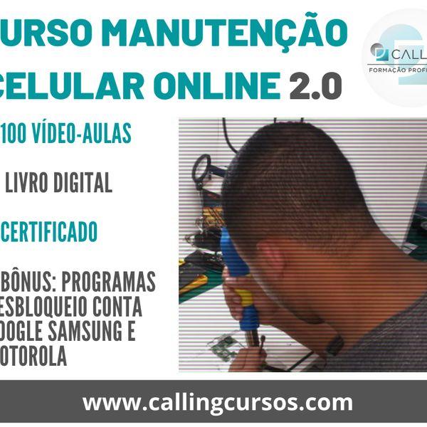 Curso Manutenção Celulares ONLINE 2.0