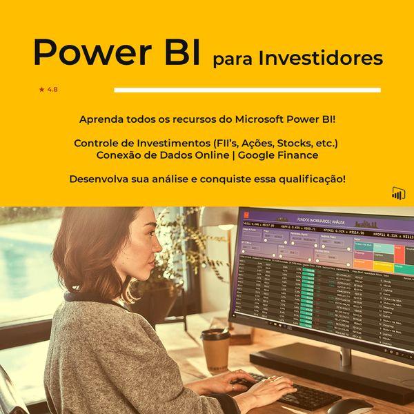 Power BI para investidores, economistas e administradores