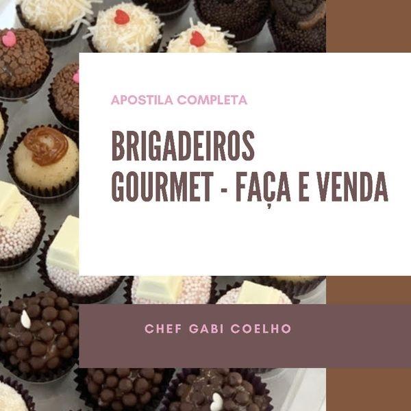 BRIGADEIROS GOURMET - FAÇA E VENDA