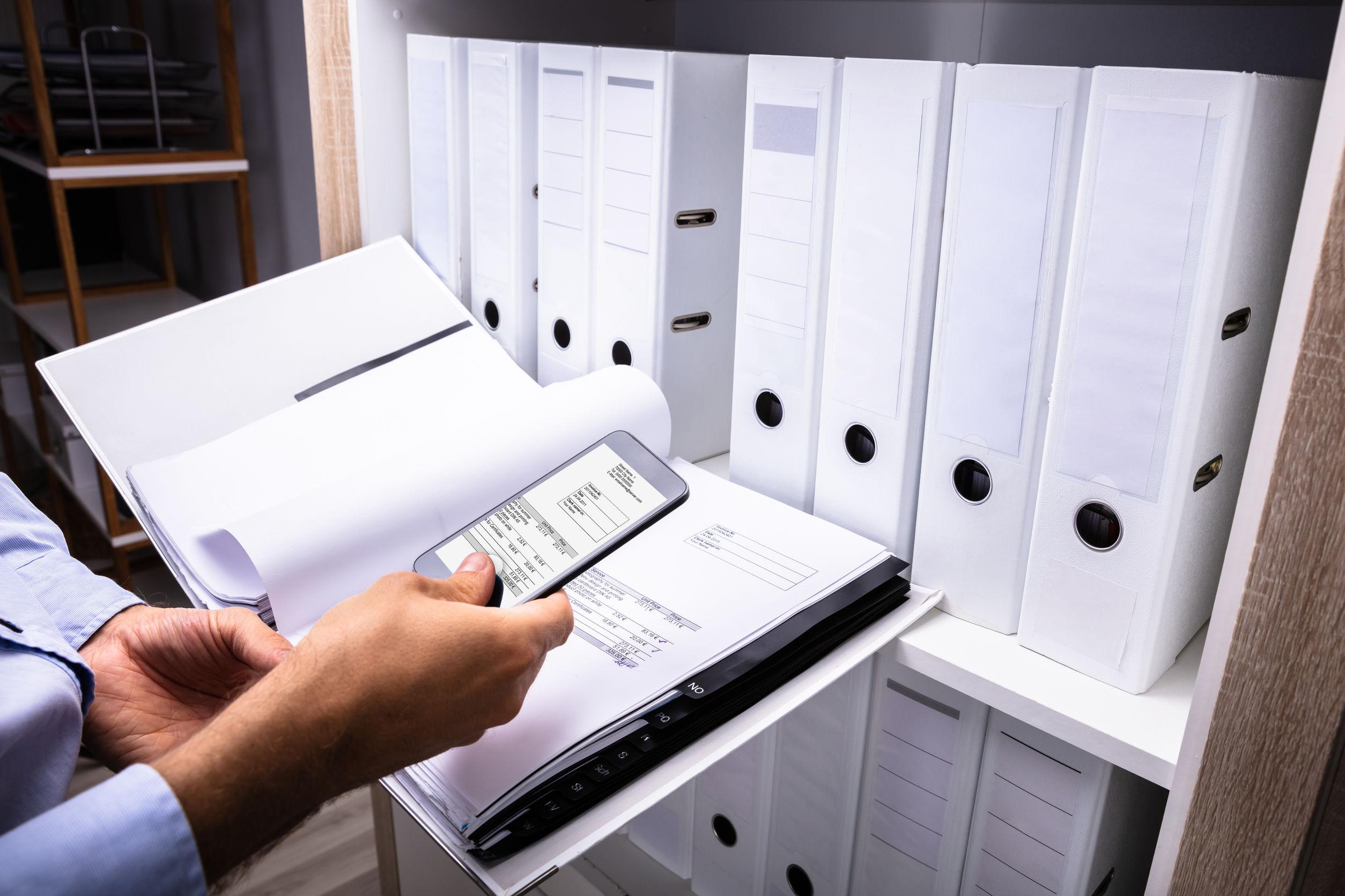 documentos que podem ser digitalizados por scanner portátil